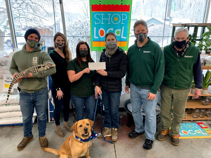 A.W. Brown's Raises Money for Winter Animal Care